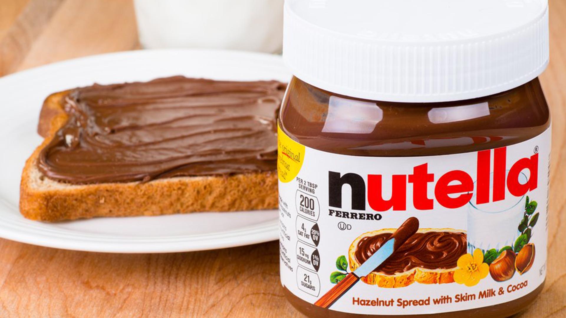 Distribuidor de Nutella