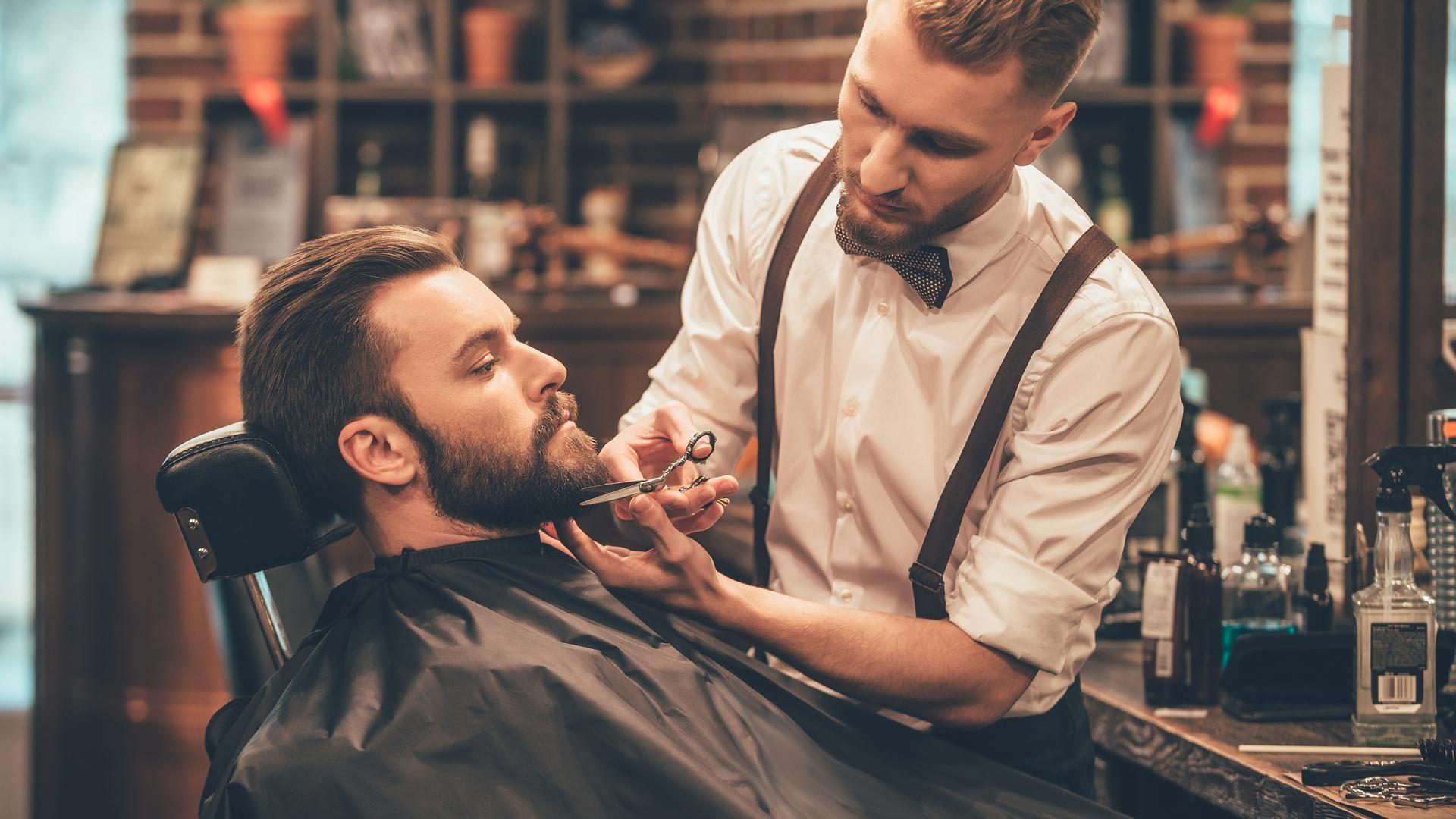 Publicidad para barbería