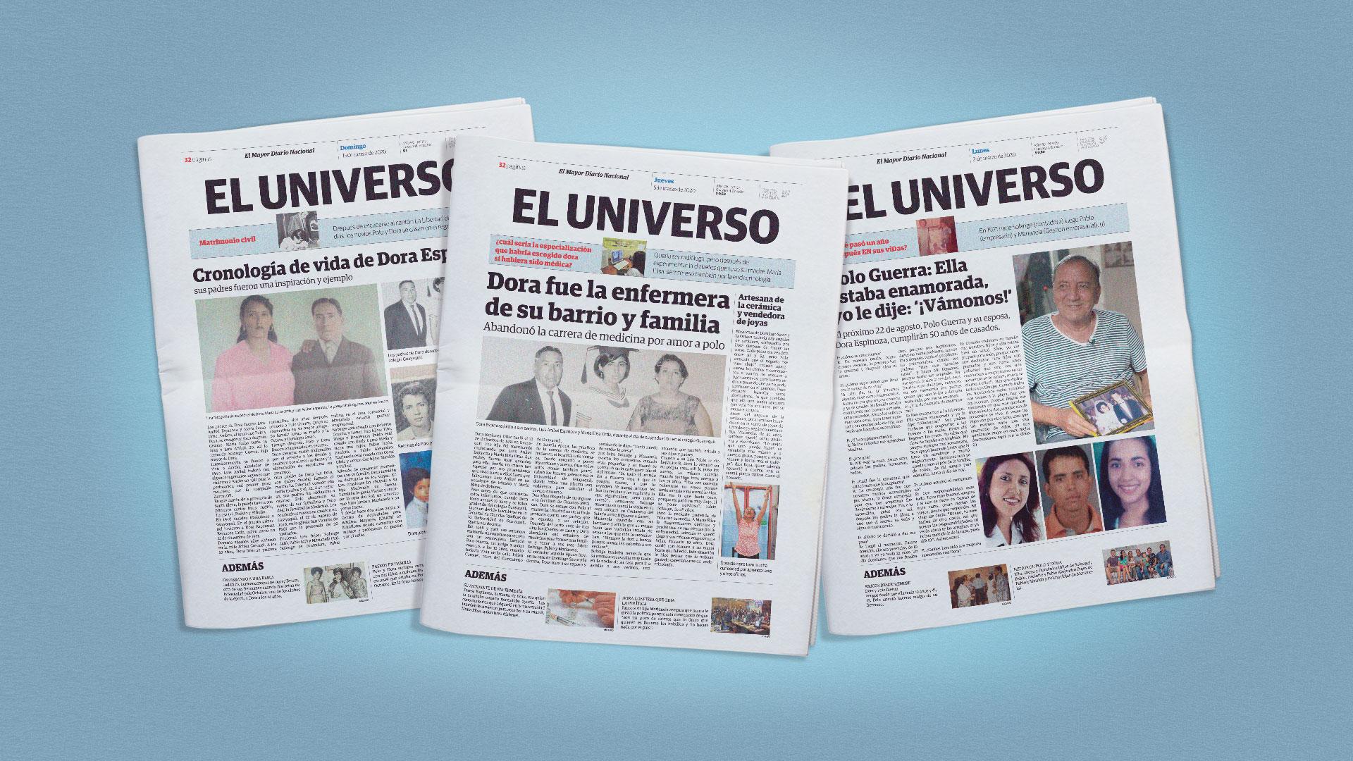 Publicidad para un periódico