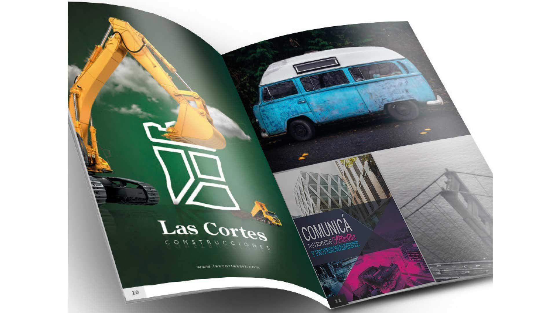 Publicidad para una revista